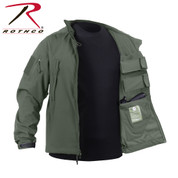 Rothco Concealed Carry Soft Shell Jacket - In/Out View