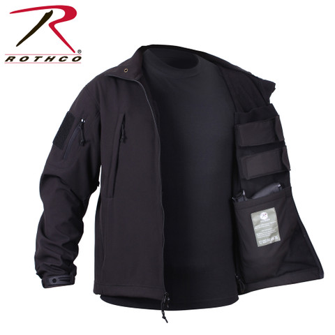 Rothco Concealed Carry Soft Shell Jacket - Open View