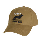 Sheep Dog Deluxe Low Profile Cap - Front View