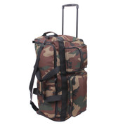 Camo Expedition Travel Wheel Bag - View