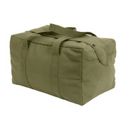 Small Olive Drab Parachute Cargo Bag - View