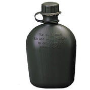 Kids Military Army 1 Qt. Plastic Canteen - View