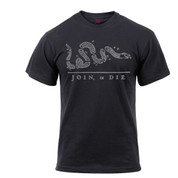 Join or Die T Shirt - Front View