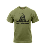 Don't Tread On Me Vintage T Shirt - Front View