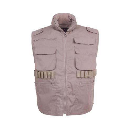 Khaki Ranger Vest - Front View