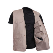 Rothco Lightweight Professional Concealed Carry Vest - Open Inside View