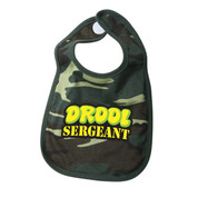 Drool Sergeant Infants Camo Bibs - View