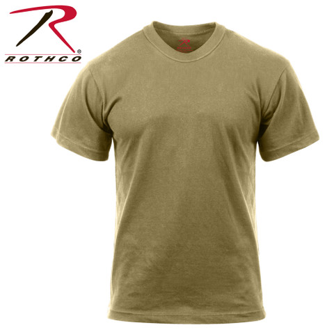 Rothco AR 670-1 Coyote T Shirt - View