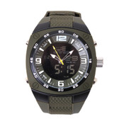 Large Analog & Digital Display Watch - View