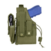 MOLLE Ambidextrous Concealed Carry Holster - Left Side View