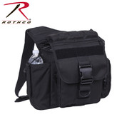 Black Advanced XL Tactical Shoulder Bag - Rothco View