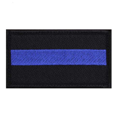 Thin Blue Line Patch - View
