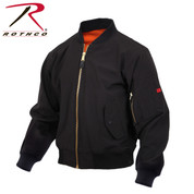 Rothco Soft Shell MA-1 Flight Jacket - Rothco View