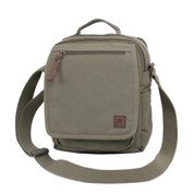 Olive Drab Everyday Work Shoulder Bag - Front View