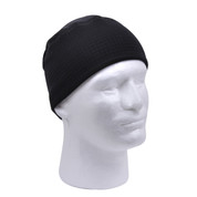 Black Polar Fleece Watch Cap - View