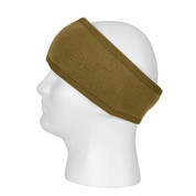 Double Layer Coyote Brown Polypro Headband - View