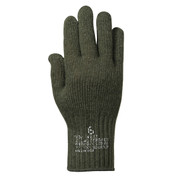 G.I. Olive Drab Wool Liner Gloves - View