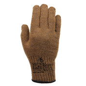 G.I. Coyote Brown Wool Liner Gloves - Top View