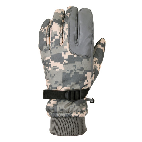 Extreme Cold Weather Army Digital Military Glove - View