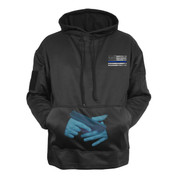 Thin Blue Line Concealed Carry Hoodie - Front View