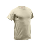 Desert Sand Quick Dry Wicking T Shirt - View