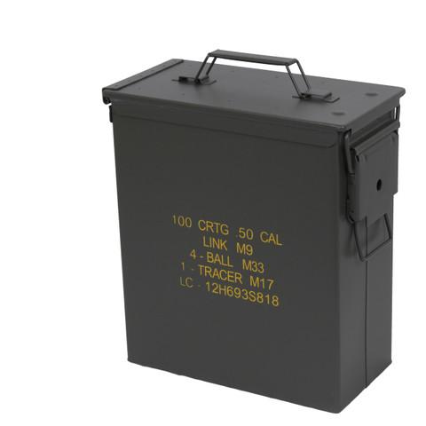 Tall 50 Cal. Ammo Box - View