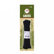 "61"" Black Nylon Laces - View"
