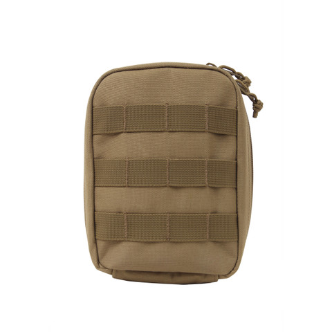 Molle Tactical Trauma First Aid Kit Pouch - Front View