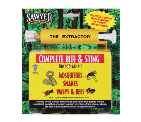 Sawyer Extractor Bite & Sting Kits - View