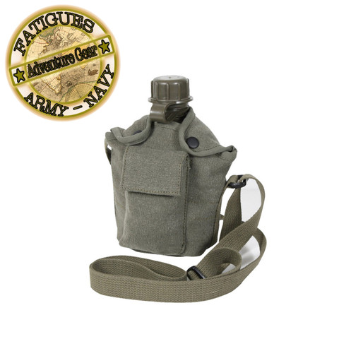 Adventure Trail Canteen Kit Combo Set - Fatigues Brand View