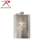 Engraved Marine Flask - Rothco View