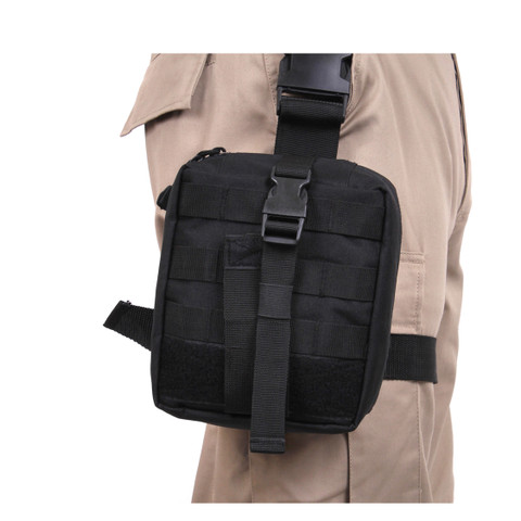 Rothco Drop Leg Medical Pouch - Side View