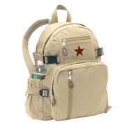 Vintage Khaki Canvas Mini Republic Daypack - View