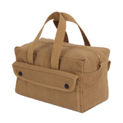 Canvas Brass Zipper Mechanics Tool Bag - View 1