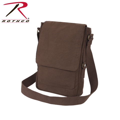Vintage Canvas Tech iPad Netbook Bag - Rothco View