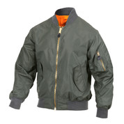 Lightweight MA-1 Flight Jacket - View