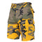 Stinger Yellow Camo Military BDU Shorts - View