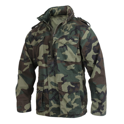 Vintage Camo Expedition Field Jacket