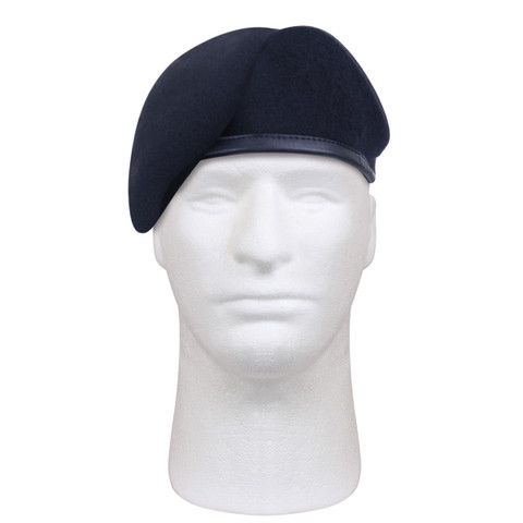 G.I.Type Inspection Ready Midnight Navy Beret - View