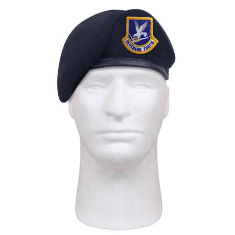 Inspection Ready USAF Beret w/Flash - View