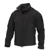 Rothco Stealth Ops Soft Shell Tactical Jacket - Front View