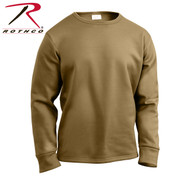 AR 670-1 Coyote Extreme Cold Weather Polypro Crew Shirt - Rothco View