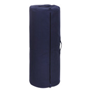 "Navy Blue Heavy Canvas 50"" Side Zipper Duffle Bag - View"