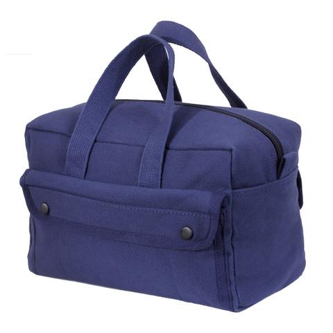 Navy Blue Canvas Mechanics Tool Bag - View