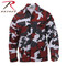 Red Camo Color BDU Fatigue Shirt - Rothco View