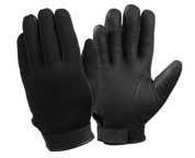 Black Waterproof Cold Weather Neoprene Gloves - View