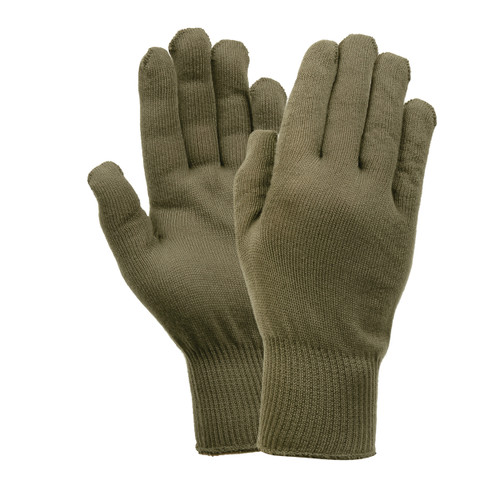 Military Polypro Glove Liners - Full View