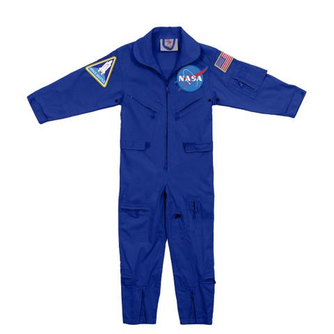 Kids NASA Flight Suit w/ Patches - View