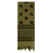 Stars & Stripes Shemagh Tactical Desert Scarf - View