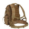 Multi Chamber MOLLE Assault Pack - Back Strap View